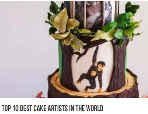Top Ten Cake Artist in the world