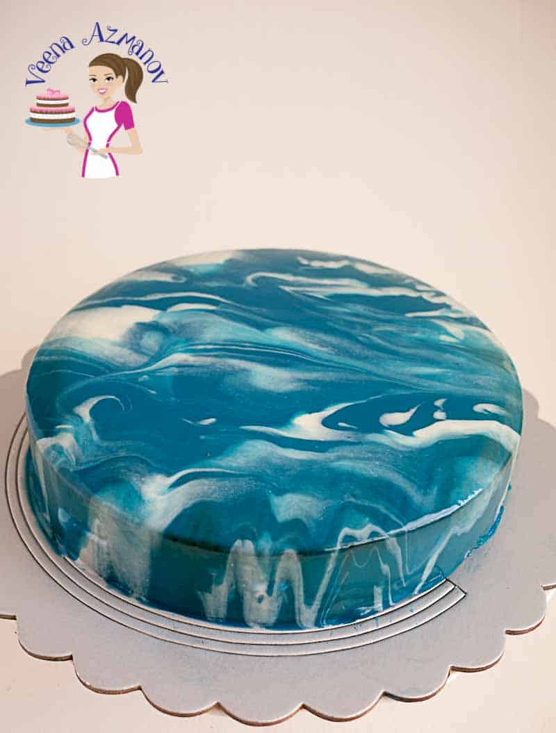 This Chocolate Mousse Cake With Torte Insert Dressed Mirror Glaze Is An Absolute Treat