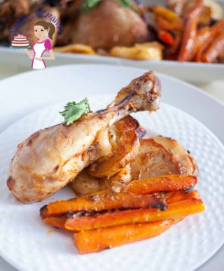 Easy Paprika Baked Chicken One Pot Meal