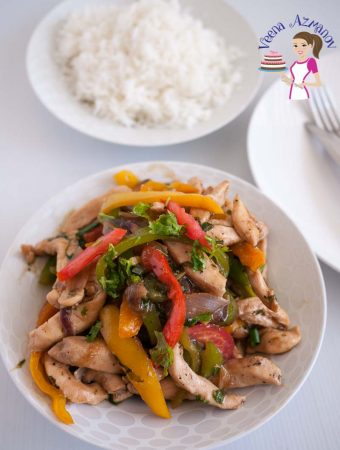 This quick Chicken and Pepper Stir-fry in 15 minutes is healthier than any takeaway you can get.