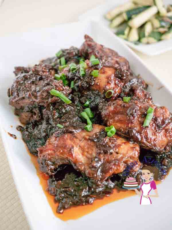 Super Easy Sticky Ginger Chicken
