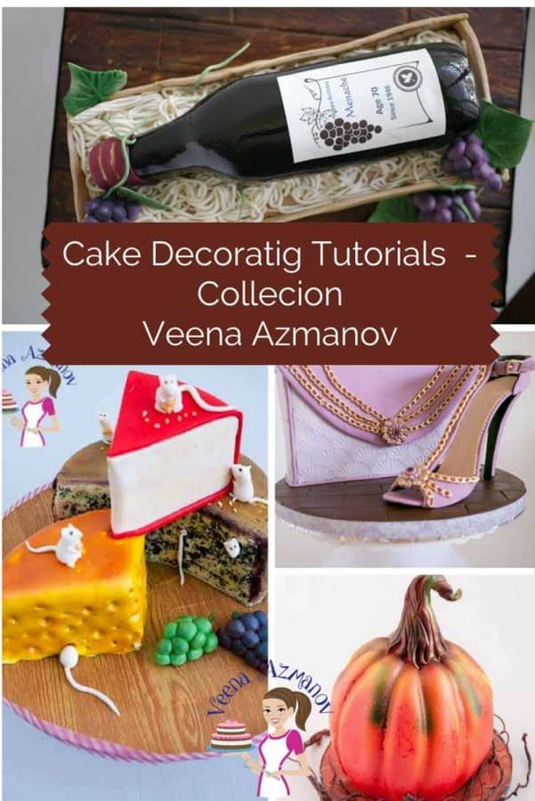 A Collection of cake decorating tutorials