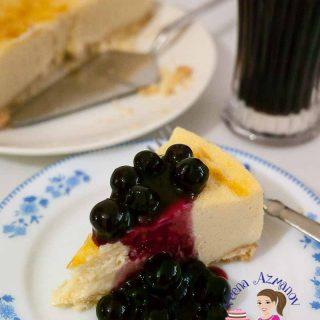 Homemade Cheesecake Recipe, Fresh Blueberries, Cheese Dessert, Baked Cheesecake, Classic Cheese Cake