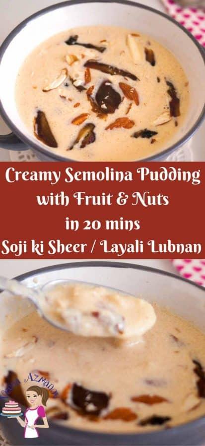 Indian Pudding, kheer, Sooji, Rava, Indian, Semolina, Instant Rava Payasam Recipe