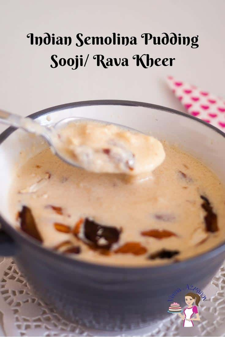Indian Pudding, kheer, Sooji, Rava, Indian, Semolina, Instant Rava Payasam Recipe