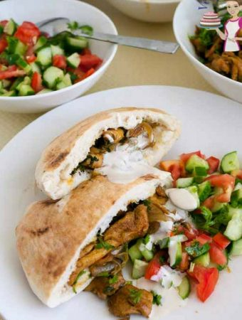 Quick Homemade Shawarma Chicken aka Pocket Shawarma Recipe