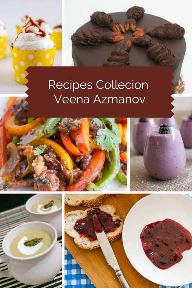 Recipe collection from sweet to savory, breakfast to dinner ideas and more