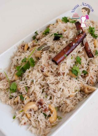 Rice Pilaf with luxurious Fruit and Nuts