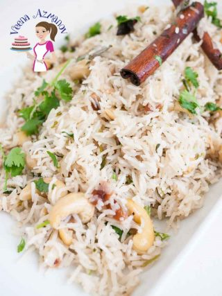 Rice Pilaf with luxurious Fruit and Nuts – Fragrant Rice Pulao