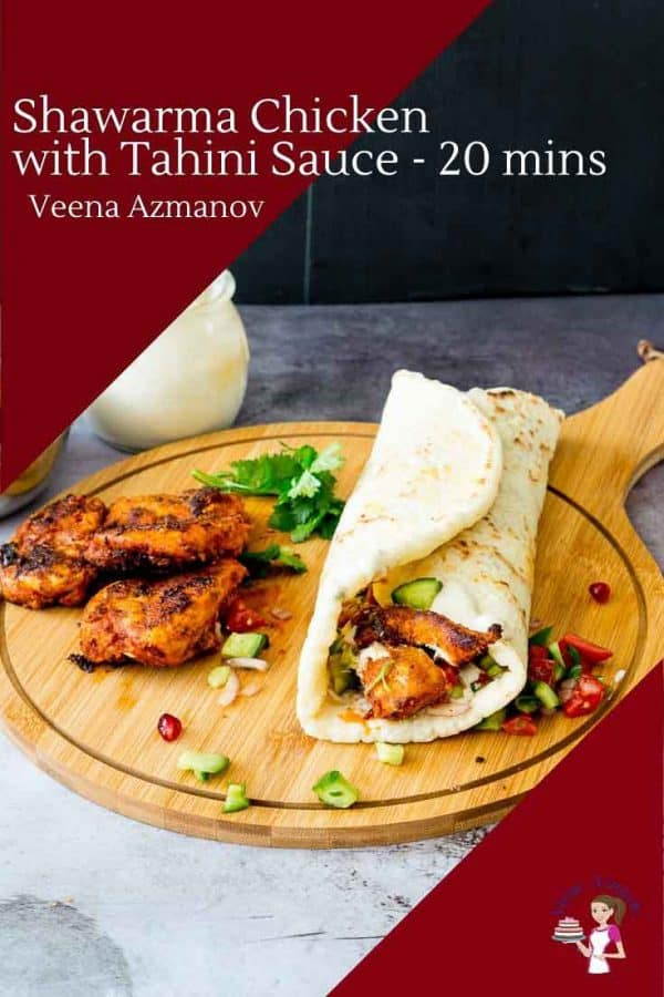 How to make Middle Eastern Chicken with Shawarma Spice Mix in just 20 mins