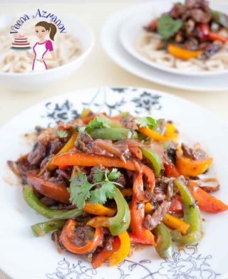 Quick and Easy Beef and Pepper Stir Fry – Asian Cooking