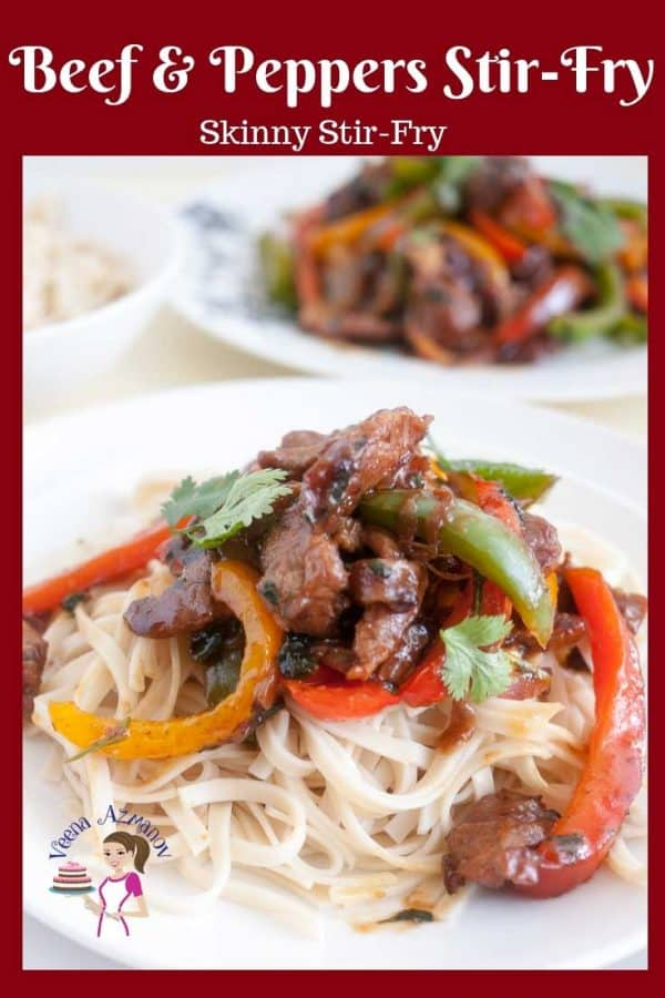 A simple, quick and easy homemade beef and pepper stir fry that gets done in 20 minutes. Better, healthier and more nutritious than any take away.