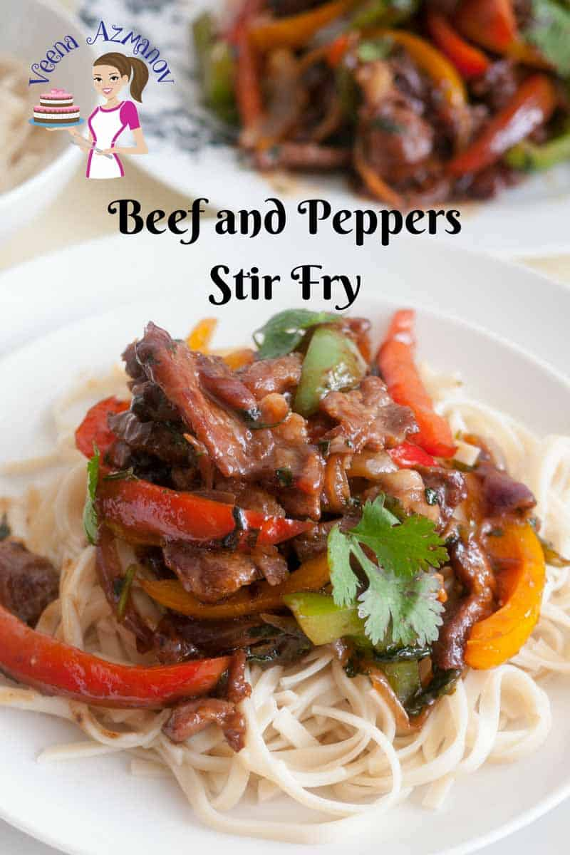 A simple, quick and easy homemade beef and pepper stir fry that gets done in 20 minutes. Better, healthier and more nutritious than any takeaway.