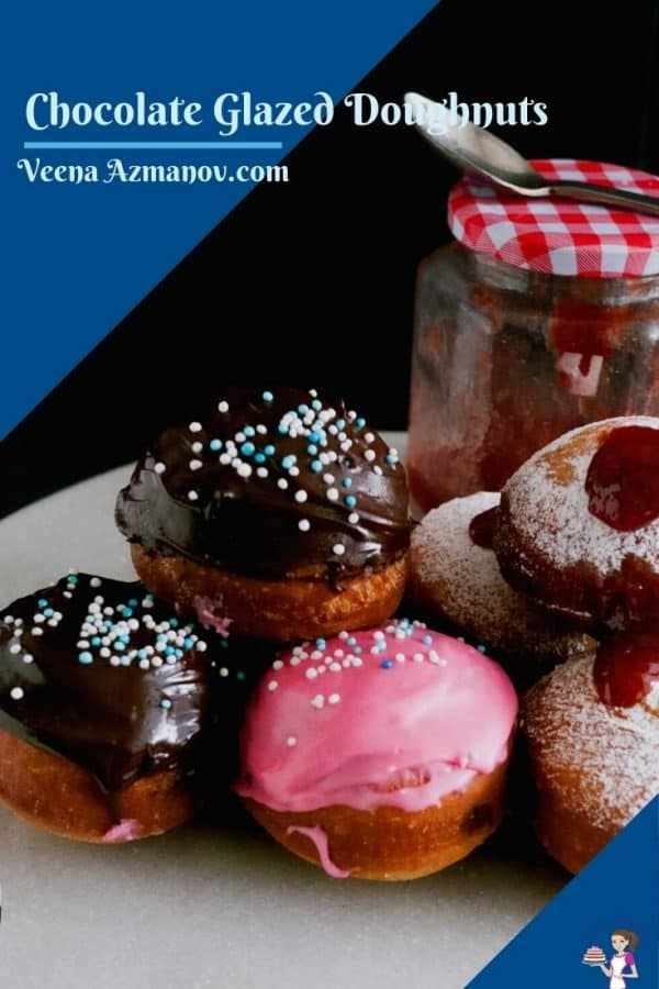Pinterest image for donuts