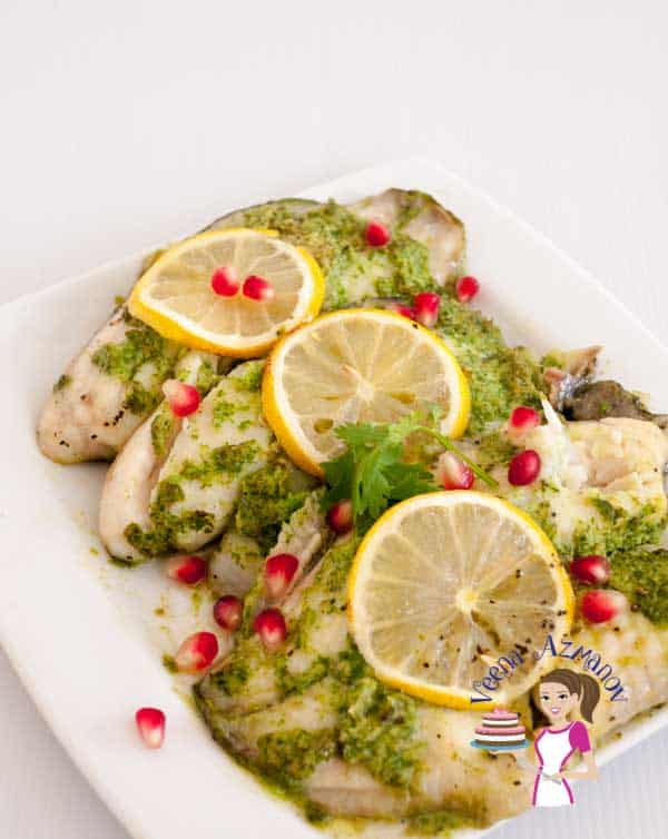 If you looking for something light and flavorful this quick and easy cilantro baked fish is a perfect choice. It take two minutes to blend the ingredients and 15 minutes to bake in the oven.