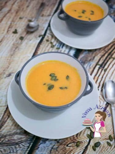 Maple and pumpkin make a perfect combination, try adding it to your pumpkin soup or even to your roasted pumpkin puree. This creamy soup makes a perfect meal on it's own as it's so hearty and filling.