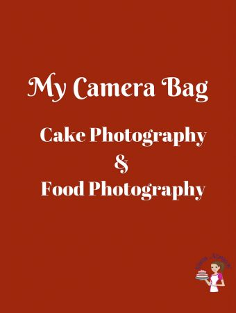 My Camera Bag – Cake Photography Food Photography
