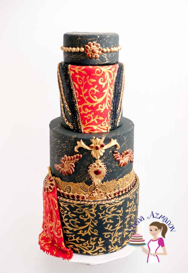 Bridal Dress Cake – Brides Around the world Collaboration
