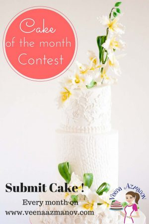 Cake of the Month Contest – December – Submit your cake now!