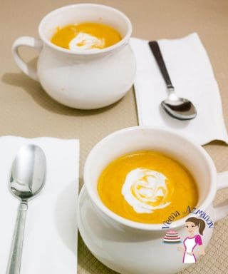 Roast Pumpkin and Sweet Potato Soup