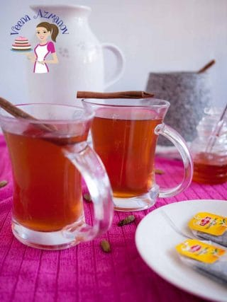 5 Spiced Ginger Tea for Cold and Soar Throat
