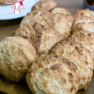 These Coconut Macaroons are the easiest cookies you can put together with just three main ingredients. Ideal for last minute tea party and great for almost all diets as these are vegetarian, eggless, gluten free and can be made nut free too. A must have recipe in your cookie jar collections.