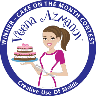 Winner of Creative use of molds – Cake of the month Contest