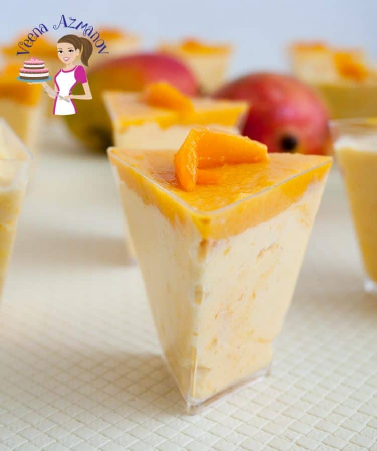 One of our favorite all time fruits in the family is Mango. When they are in season the kids will ask for them everyday. Almost all desserts will be around mango weather it's a mango mousse, mango pudding, jello or plain custard.