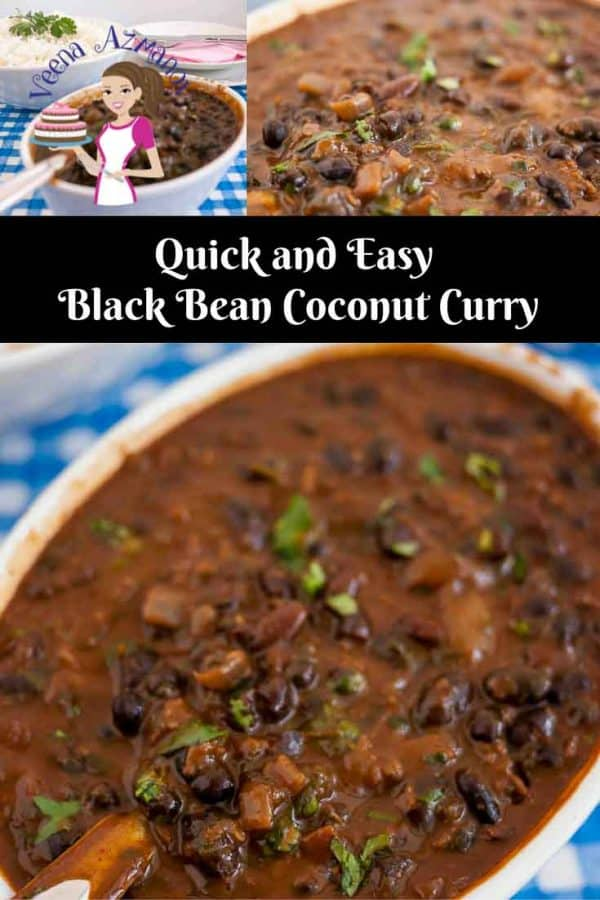 This black beans coconut curry is a healthy addition to any diet. You can use them dried or canned. Using canned black beans makes it quick and easy. Black beans are high in protein, high in fiber and an excellent antioxidant for the body a great addition to the family diet.