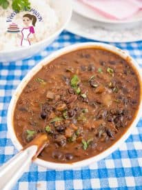 This black bean coconut curry is a healthy addition to any diet. You can use them dried or canned. Using canned black beans makes it quick and easy. Black beans are high in protein, high in fiber and an excellent antioxidant for the body a great addition to the family diet.