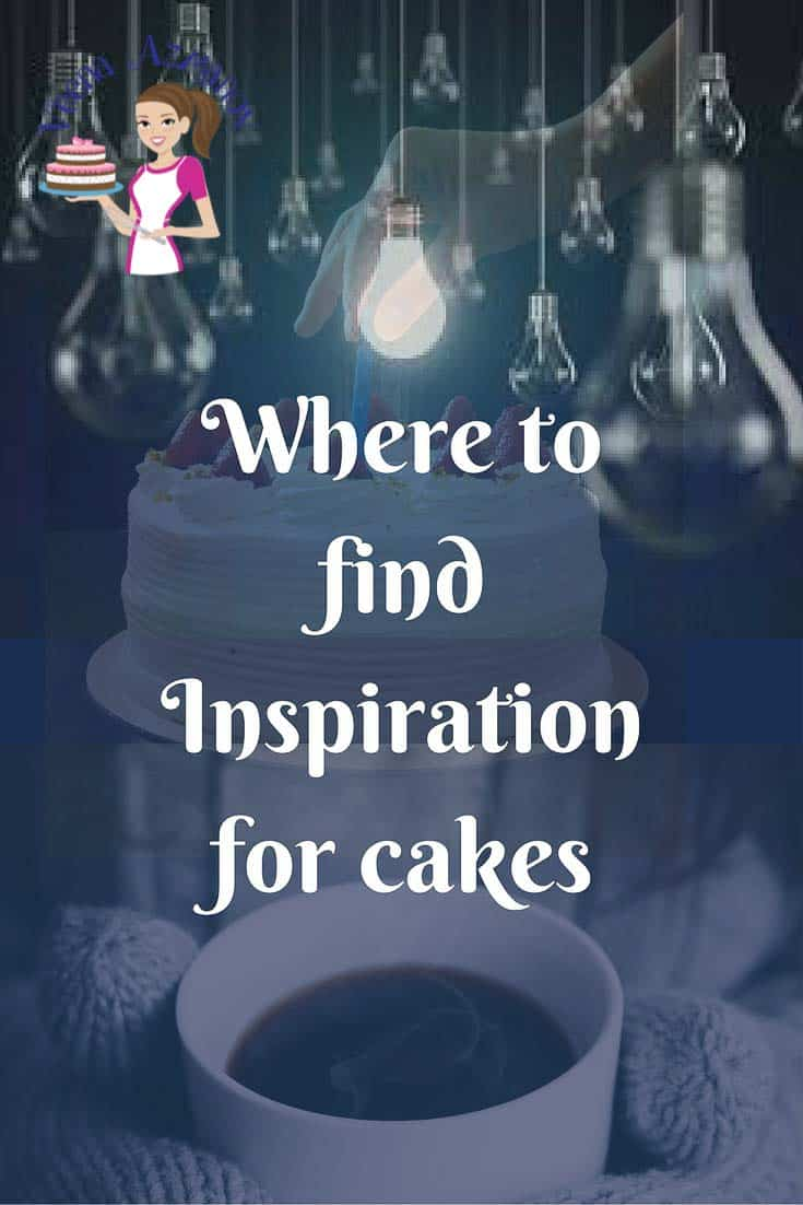 Poster: where to find inspiration for cakes