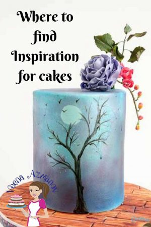 Have you ever wondered where to find inspiration for cakes? Had it happened that you have a cake to make but have no clue where start? Where to look for cake ideas? How to design a cake? What colors to use for your cakes? I hope this post will help you with some answers.