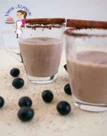 This easy to prepare hot chocolate mix will have you drinking hot cocoa more often in winter. The kids will love it! It's not just chocolaty but thick, creamy, warm and delicious.