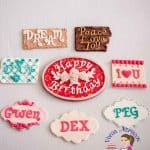 How to make Easy Fondant Plaques and Name Tags for Cakes