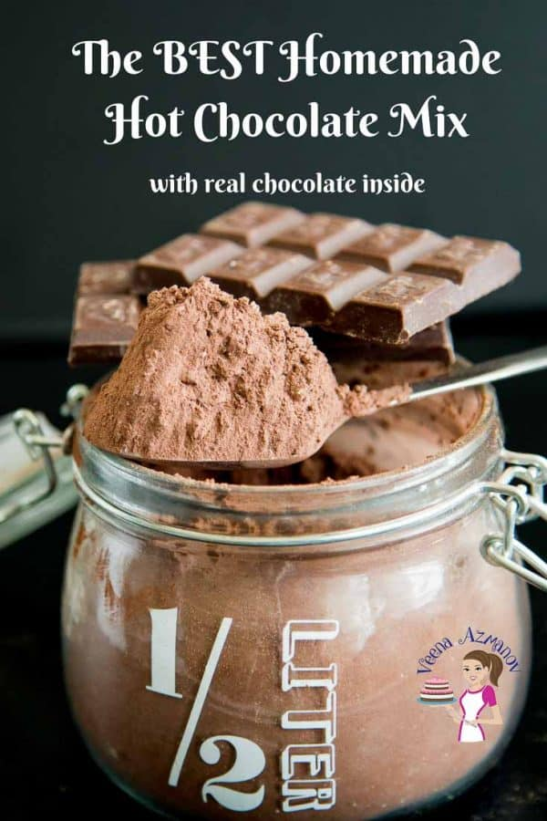 How to make chocolate mix homemade for hot chocolate or cold chocolate drinks