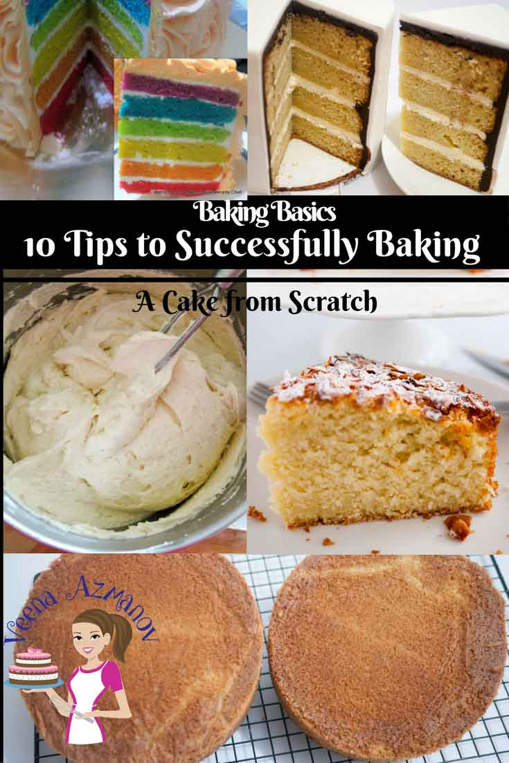 Baking in a science in which each ingredient plays an important role and has the ability to alter the end product. It requires a certain process and procedure that we must follow. Here are 10 tips to successfully baking a cake that I use and follow which I hope you will find useful.