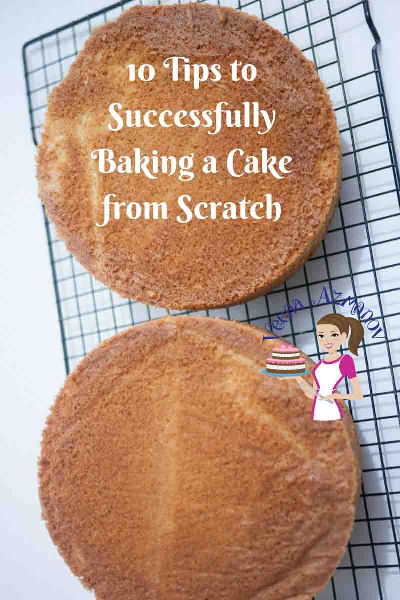 10 Tips to Successfully Baking Cake from Scratch with Recipe