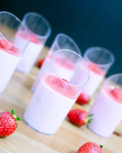 The Classic strawberry Bavarian cream often called Creme Bavaria is a pastry cream based dessert with the luxury of whipped cream and strawberry. Rich, delicious but super easy to create. A few extra steps in the making but a truly impressive desert if you want to impress friend and family.