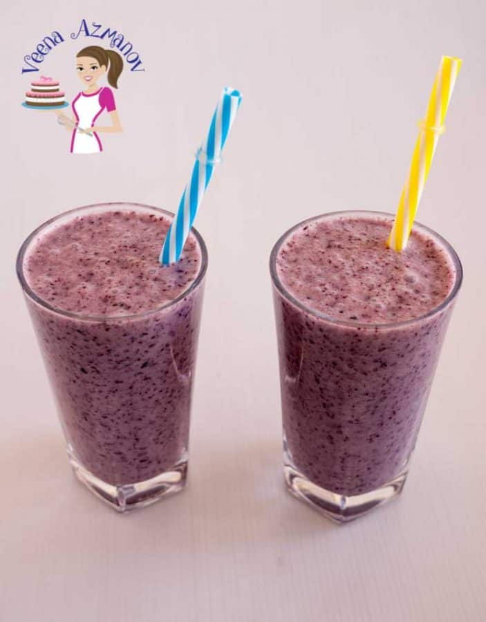 Nothing beats the summer blues better than this Blueberry Banana Chia Smoothie. Light and refreshing this classic combination of tart blueberries with the creamy nutritious bananas and chia make summer more fun and enjoyable.