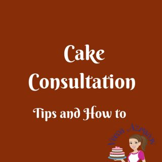 Any cake decorator; new or in business for a while will need to conduct cake consultation. It get easier and fun over time; but it can be a difficult experience, sometimes truly anxious or nervous when you are new or unprepared.