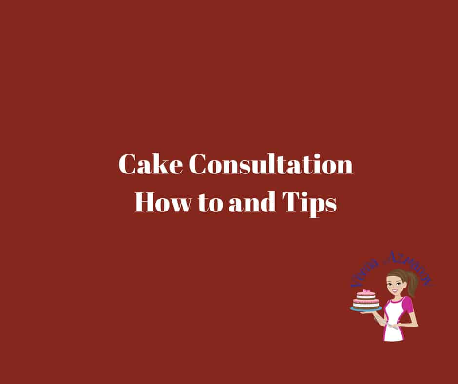 Nervous about Cake Consultations? This might help....