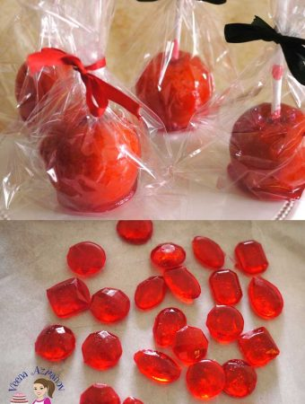 How to use Candy Gems as Isomalt Gem Substitute