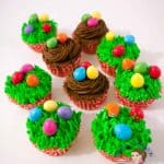 Festive Carrot Cupcakes with Easter Eggs – Easter Cupcakes