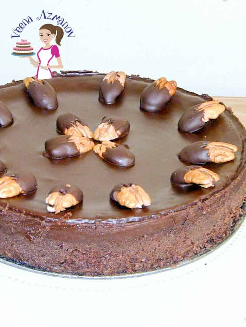 Chocolate Pecan Cake aka Flourless Chocolate Cake