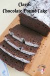 Best Chocolate Butter Pound Cake Recipe with Milk takes 10 minutes to mix and 40 minutes to bake.