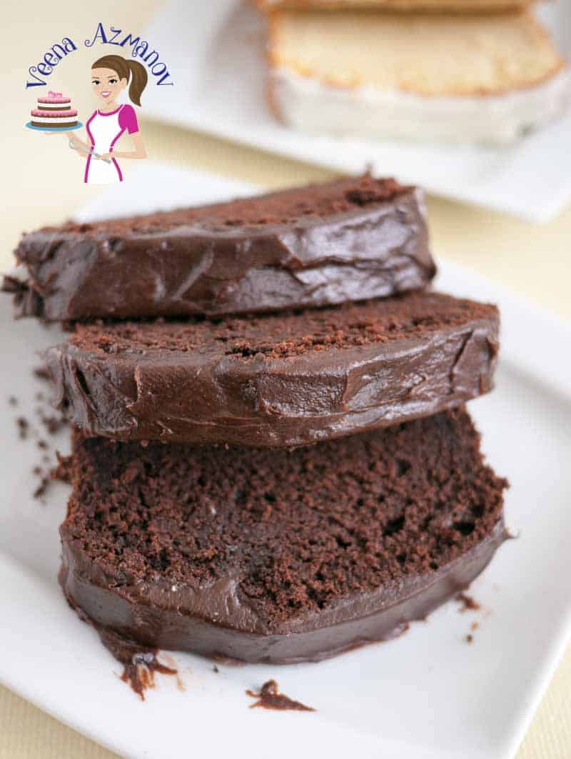 Classic Chocolate Pound Cake Recipe - Veena Azmanov