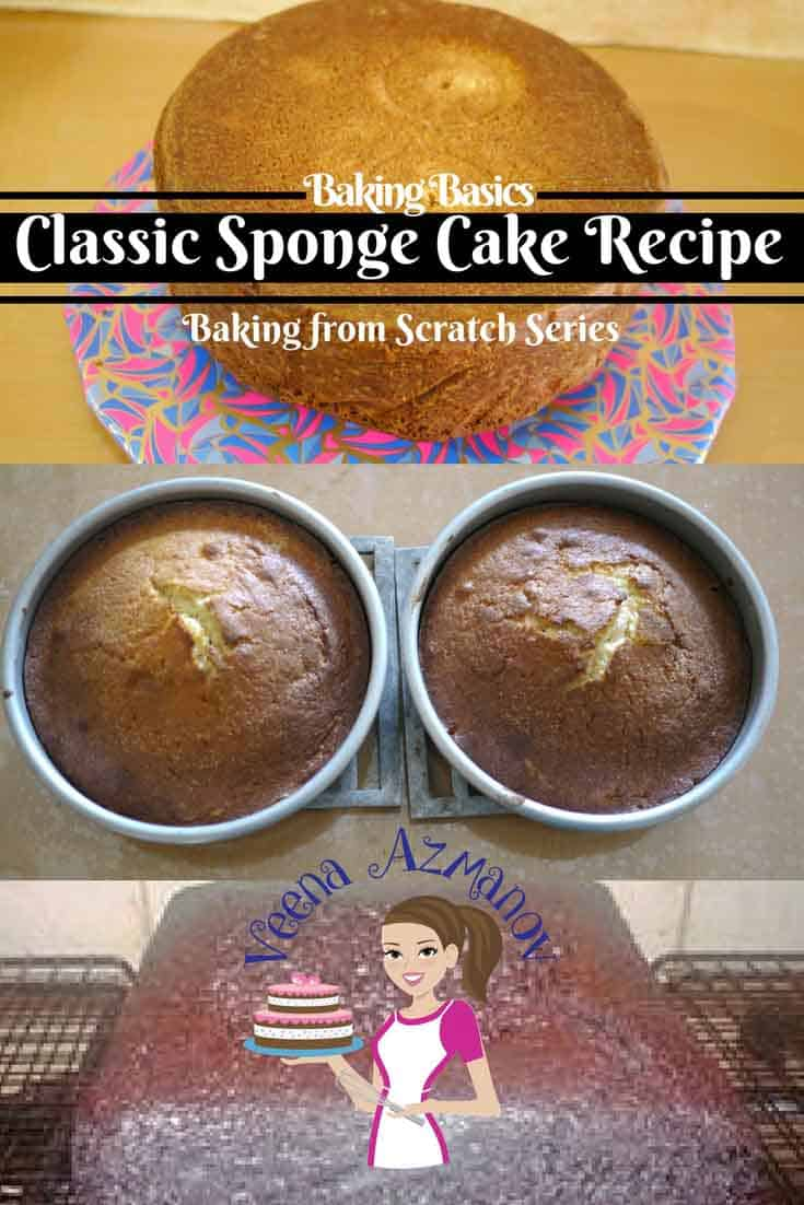A good sponge cake is a is a must have recipe on hand. It's often the base for many variations and uses. From perfect tired cakes to novelty cakes or even dessert cakes dress with cream or frosting.  It's ideal for children's cakes or any tea time treat. It's one of the easiest cakes to make too!  It's also a great recipe to start if you are new to baking.