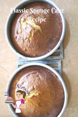 Classic Sponge Cake Recipe – Vanilla or Chocolate.