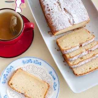 This classic vanilla pound cake is delicious and very versatile. You can eat it on it's own or frost and fill it for a celebration treat. It also makes a perfect base for novelty cakes because it is firm yet soft and moist texture with a soft crumb.