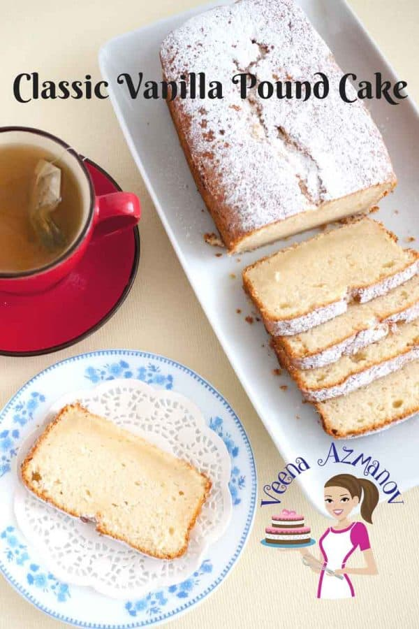 This Best Vanilla Butter Pound Cake Recipe with Milk takes 10 minutes to mix and 40 minutes to bake.